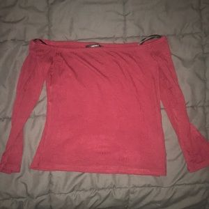 Brand new off the shoulder F21 top
